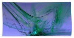 Beach Towel featuring the digital art Circulus by Jeff Iverson