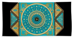 Circumplexical No 3557 Beach Towel