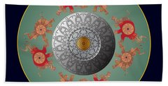 Circumplexical No 3667 Beach Towel
