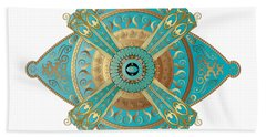 Circumplexical No 3695 Beach Towel