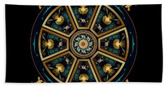 Circumplexical No 3802 Beach Towel