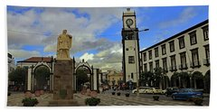 Beach Towel featuring the photograph City Gate  by Tony Murtagh