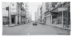City Street, Havana Beach Towel