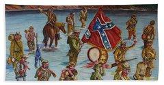Civil War Battle, Spanish Fort, Spanish Fort,mobile Bay, Alabama Beach Towel