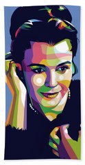 Claire Bloom Beach Towel