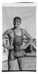 Clarence Ross, N.y. Athletic Club 1925 Beach Towel