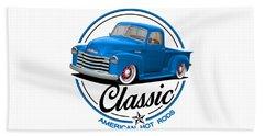 Classic American Hot Rod Beach Towel
