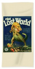 Classic Movie Poster - The Lost World Beach Towel