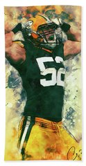 Clay Matthews Beach Towel