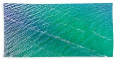 Clear Water Imagery  Beach Towel