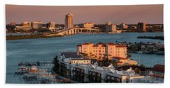 Clearwater Evening Beach Towel