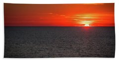 Clearwater Sunset Beach Towel