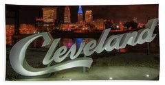 Cleveland Proud  Beach Towel