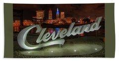 Cleveland Proud  Beach Towel