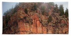 Cliff Face Hz Beach Sheet
