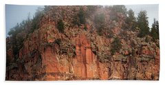 Cliff Face Hz Beach Towel