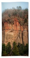 Cliff Face Beach Towel
