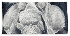 Close-up Portrait Beach Towel