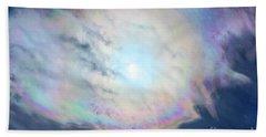 Cloud Iridescence Beach Sheet