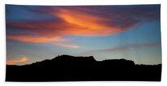 Cloud Over Mt. Boney Beach Sheet