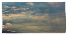 Beach Towel featuring the photograph Cloud-scape 2 by Stewart Marsden