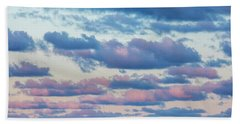 Clouds In The Sky Beach Towel