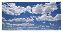 Clouds, Part 1 Beach Towel