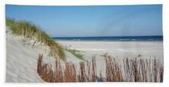 Beach Towel featuring the photograph Coast Ameland by Anjo Ten Kate
