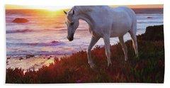 Beach Towel featuring the digital art Coastal Dream by Melinda Hughes-Berland