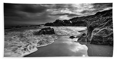 Beach Towel featuring the photograph Coastal Light  by John Rodrigues