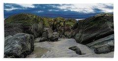 Coastline Castle Beach Towel