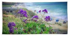 Coastline Color Beach Towel