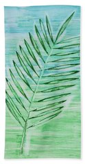 Coconut Leaf Beach Towel