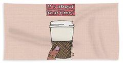 Coffee Time Beach Sheet