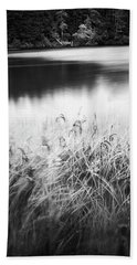 Beach Towel featuring the photograph Coffenbury Lake by Whitney Goodey