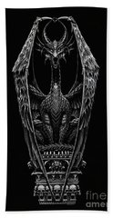 Coffin Dragon Beach Towel
