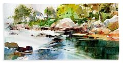 Cohasset Rapids Beach Towel