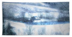 Cold Valley Beach Towel