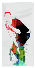 Coldplay Watercolor Beach Towel