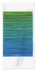 Color And Lines 5 Beach Towel