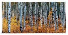 Colorado Autumn Wonder Panorama Beach Sheet