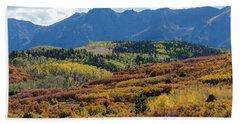 Beach Sheet featuring the photograph Colorado Color Bonanza by James BO Insogna