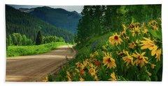 Colorado Wildflowers Beach Sheet
