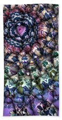 Colorful 3d Surface Beach Towel