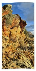 Colorful Crags In Colorado National Monument Beach Sheet