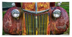 Colorful Ford Beach Towel