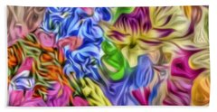 Colors From Nature Beach Towel
