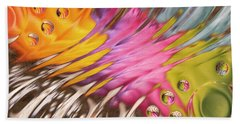 Colors In Vitro 2 Beach Towel