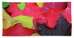 Colors Of Fall Beach Towel