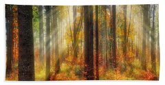 Beach Towel featuring the photograph Colours Of Nature 02 by Edmund Nagele